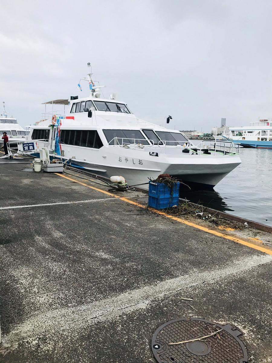 広島港から船で一気に宮島へ行ってみた!
