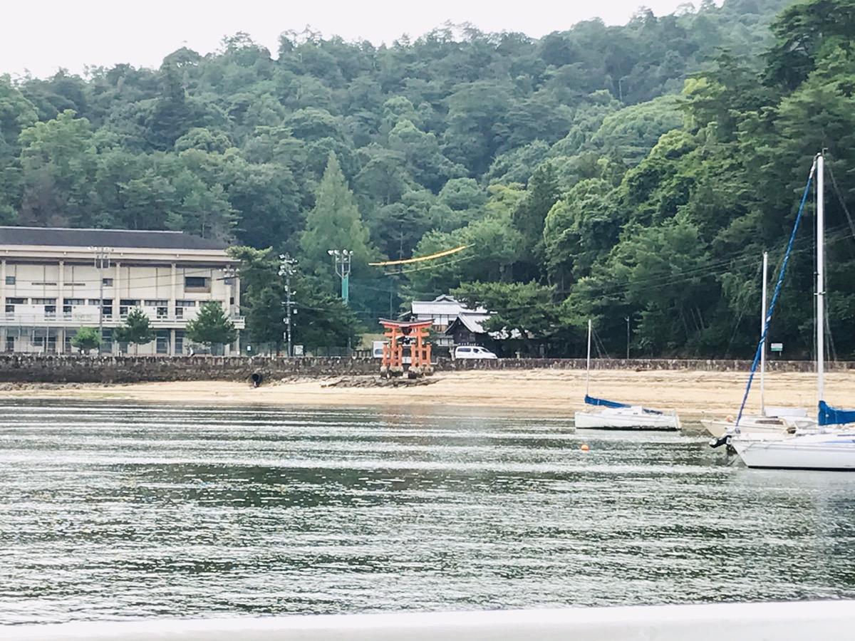 高速船からの風景