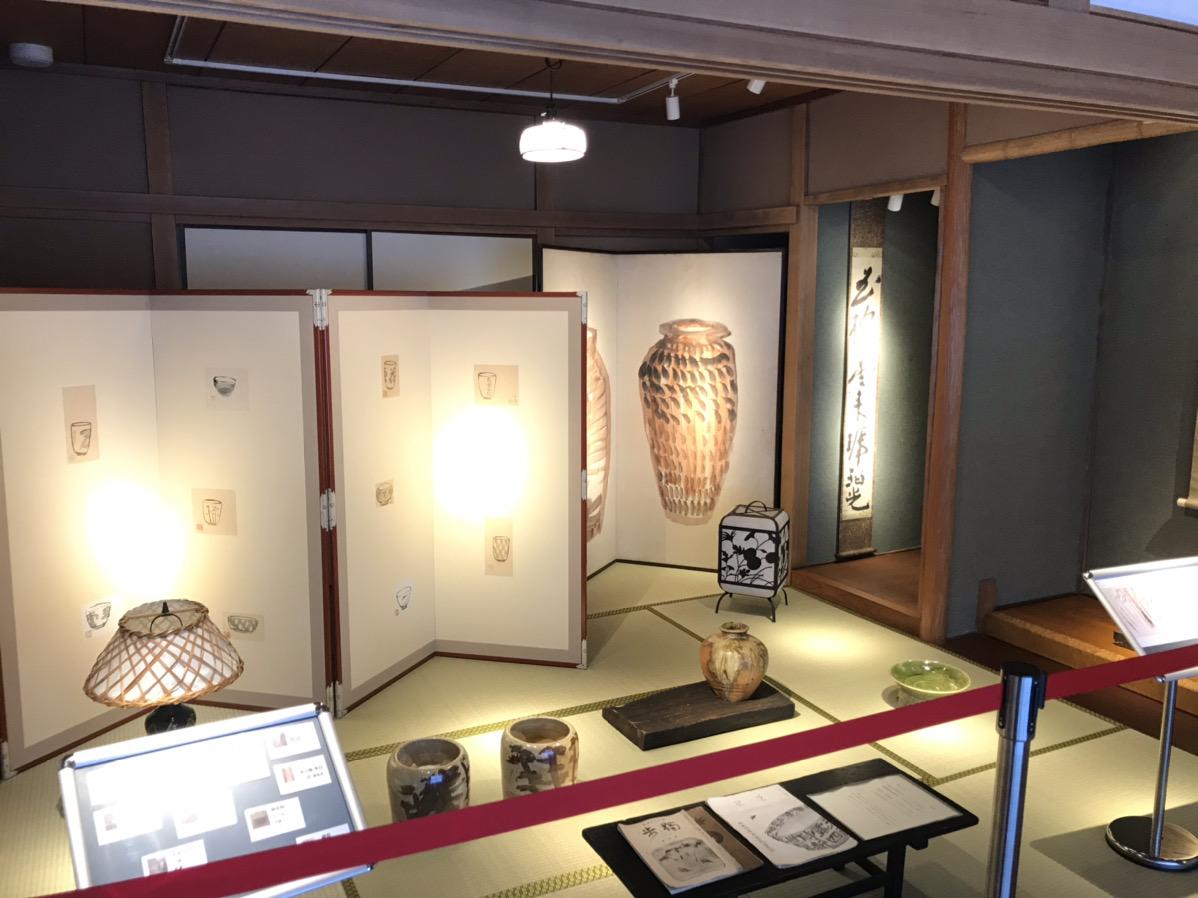 北大路魯山人美術館の展示品